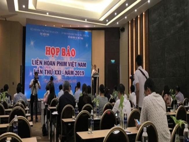 1.600 nghệ sĩ dự liên hoan phim Việt Nam lần thứ 21 ở Vũng Tàu