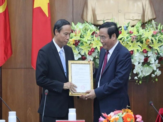 Chuẩn y phó bí thư Tỉnh ủy BR-VT cho ông Nguyễn Văn Thọ