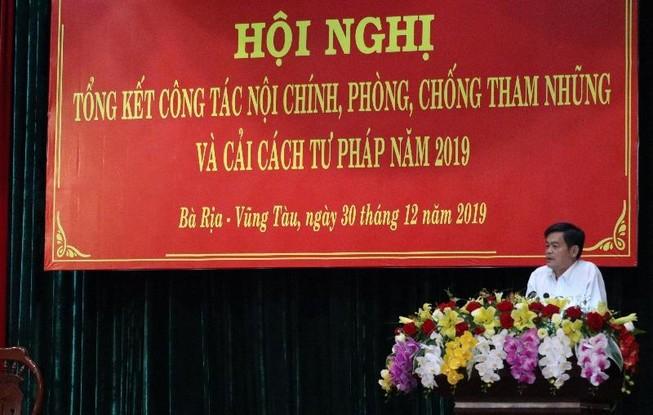 'Khó tin là Bà Rịa-Vũng Tàu không có tham nhũng vặt'