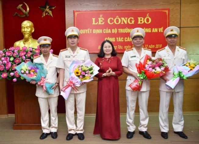 Bà Rịa-Vũng Tàu có tân phó giám đốc công an