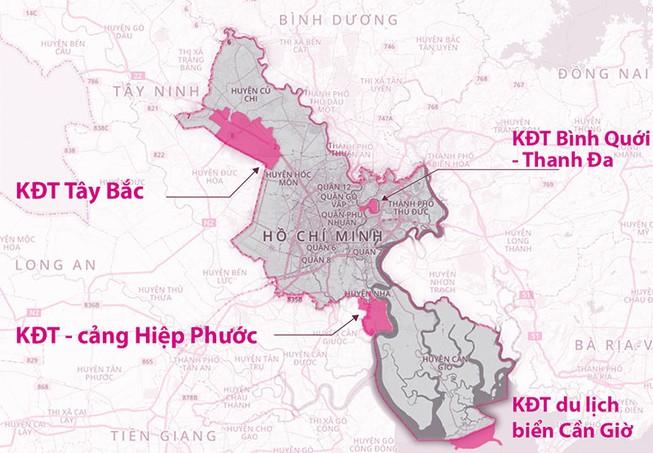 TP.HCM có nên quy hoạch 4 khu đô thị mới?