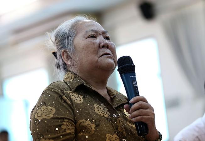Toàn cảnh lãnh đạo Ban Tiếp dân TW và TP.HCM gặp dân Thủ Thiêm