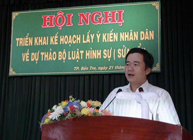 Phó giám đốc Sở Tư pháp Bến Tre qua đời