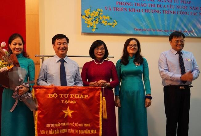 Hội nghị tổng kết ngành tư pháp TP.HCM năm 2019