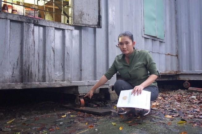 Thông tin mới vụ trổ cửa container làm quán bị xử phạt