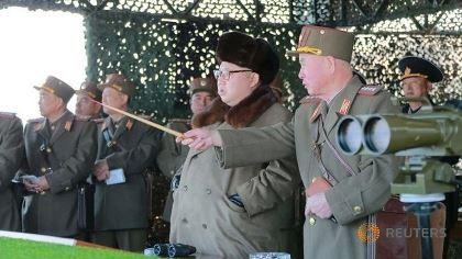 Triều Tiên lại phóng tên lửa tầm ngắn ra biển Hoa Đông