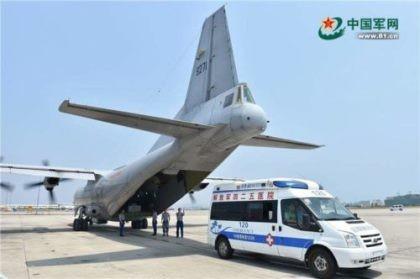 Trung Quốc điều máy bay quân sự phi pháp ra đá Chữ Thập