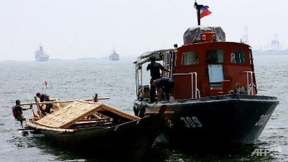 Philippines bắt 2 tàu cá Trung Quốc đánh bắt trộm