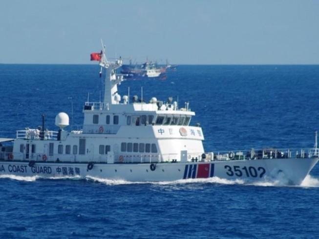 2 tàu hải cảnh Trung Quốc đi vào vùng biển Nhật Bản