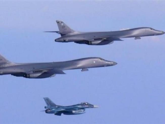 2 oanh tạc cơ B-1 Mỹ xuất kích đáp trả Triều Tiên