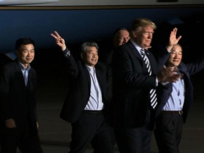 3 công dân Mỹ được Triều Tiên thả: 'Như một giấc mơ'