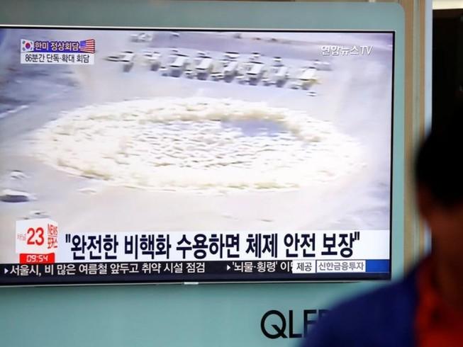 Triều Tiên đã cho nổ bãi thử hạt nhân trước mặt PV nước ngoài
