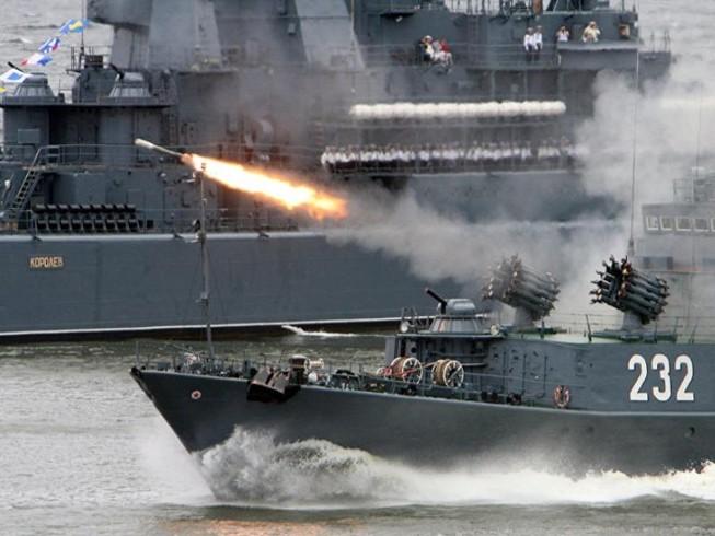 Nga tập trận lớn ở Địa Trung Hải giữa lúc Syria căng thẳng