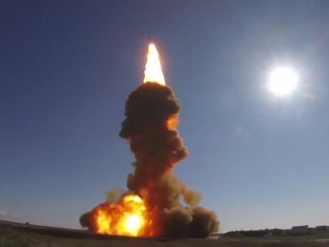 Video Nga thử tên lửa cải tiến chuyên bảo vệ thủ đô Moscow