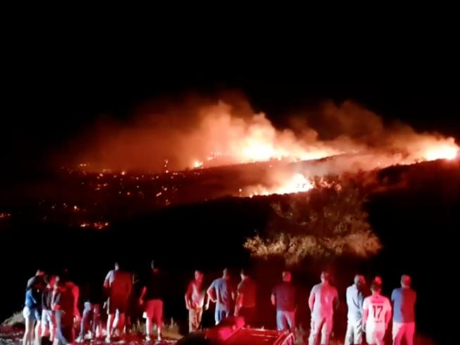 Vật thể bí ẩn đâm xuống đảo Cyprus lúc Israel không kích Syria
