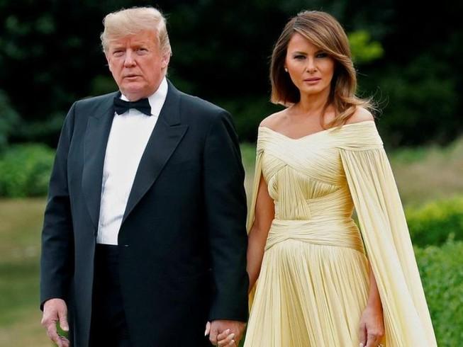 Tổng thống Mỹ Donald Trump và Đệ nhất phu nhân Melania.