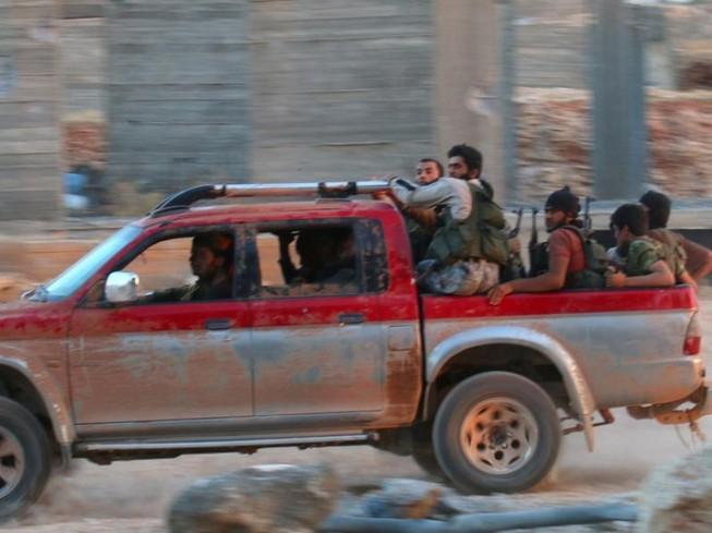 Nhóm vũ trang Jabhat Fateh al-Sham ở Syria.