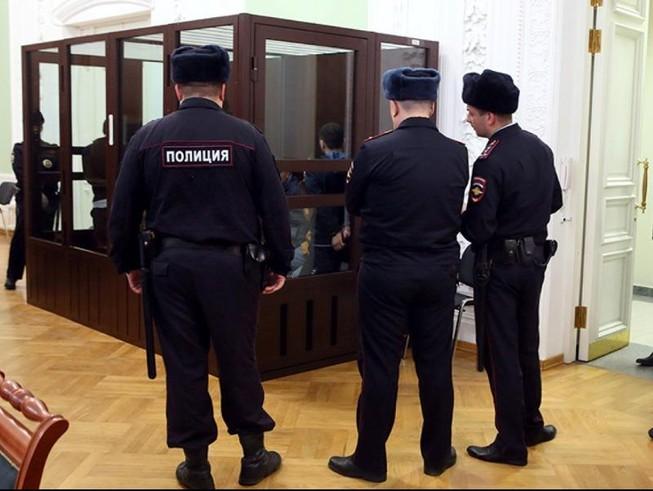 Một phòng xử án tại Nga.