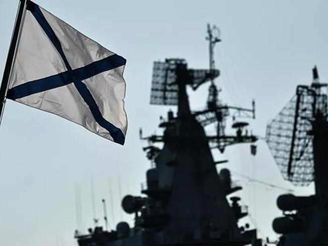 Hệ thống radar trên tàu chiến của Hạm đội biển Đen Nga. Ảnh: SPUTNIK