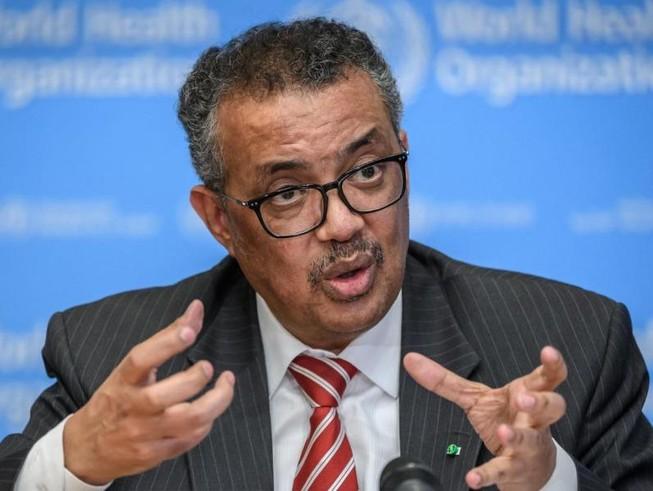 Tổng Giám đốc Tổ chức Y tế Thế giới (WHO) – ông Tedros Adhanom Ghebreyesus.