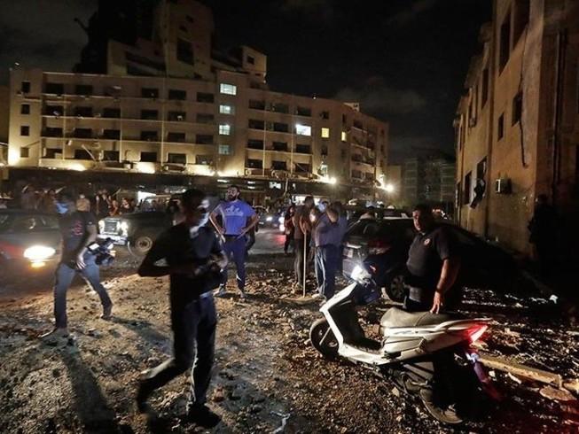 Hiện trường vụ nổ ở Beirut (Lebanon) hôm 4-8.