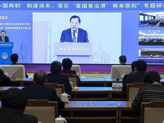 Trung Quốc lên kế hoạch để 'người yêu nước' lãnh đạo Hong Kong