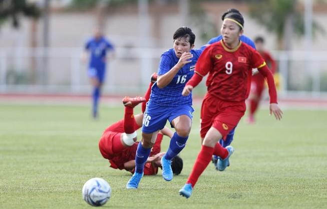 Nữ Việt Nam chia điểm đầy tiếc nuối ở phút cuối trước Thái Lan