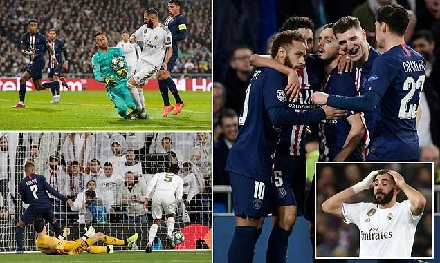 Real chia điểm phút cuối trước PSG, Bayern 'chơi tennis'