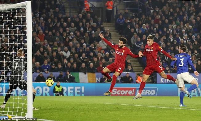 """Ghi 3 bàn chưa đến 10 phút, Liverpool """"xử đẹp"""" Leicester City"""
