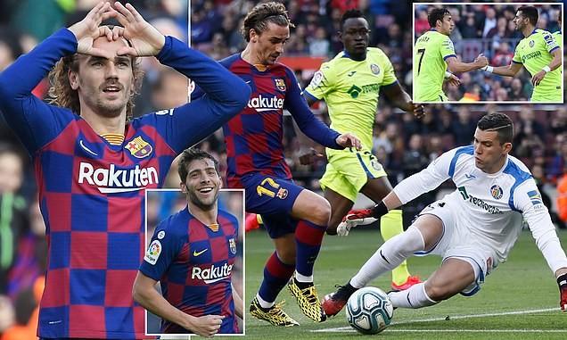 Messi tiếp tục 'tịt ngòi', Barca thắng khó Getafe tại Nou Camp
