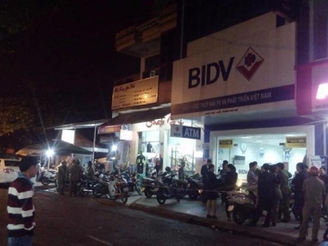 Vụ cướp ngân hàng: BIDV đảm bảo quyền lợi khách hàng