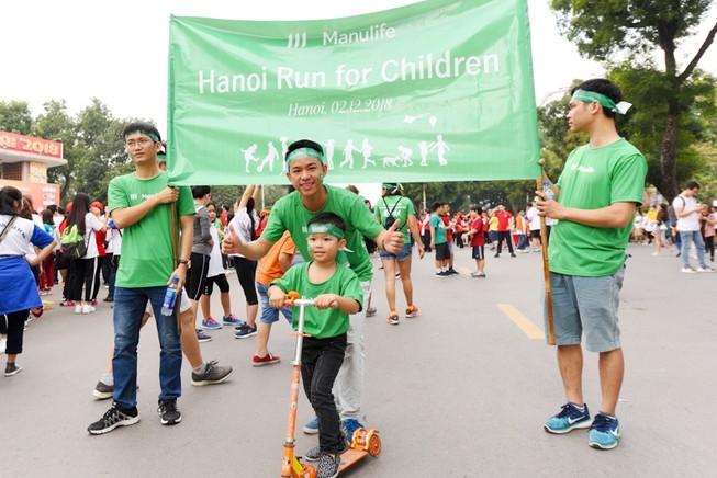 Manulife Việt Nam: Chạy vì trẻ em Hà Nội 2018