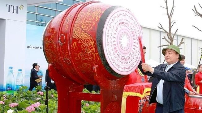 Tập đoàn TH tặng 21.000 cây dổi xanh cho Nghệ An