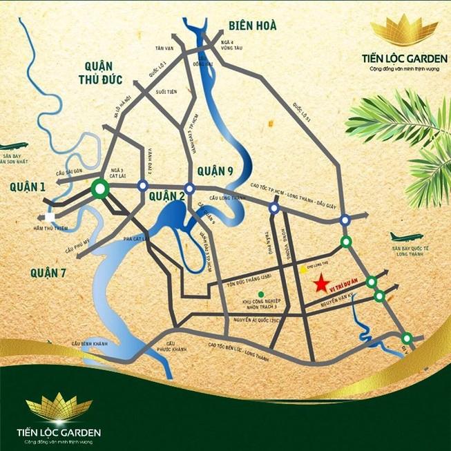 Vùng tam giác kinh tế đô thị Nhơn Trạch