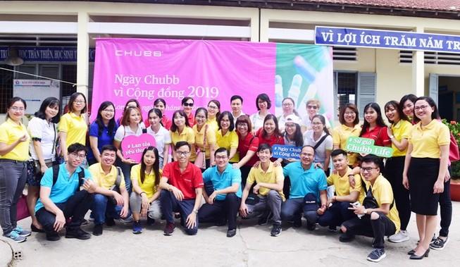 'Ngày Chubb vì Cộng đồng 2019' tại Việt Nam