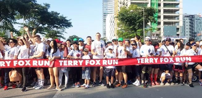 Manulife Việt Nam đồng hành cùng Terry Fox Run 2019