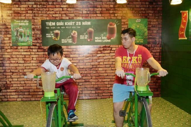 'Thị trấn Tết MILO' mở cửa chào đón các em nhỏ Hà Nội