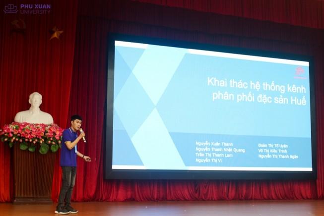 Startup sinh viên ĐH Phú Xuân gọi được vốn 250 triệu đồng