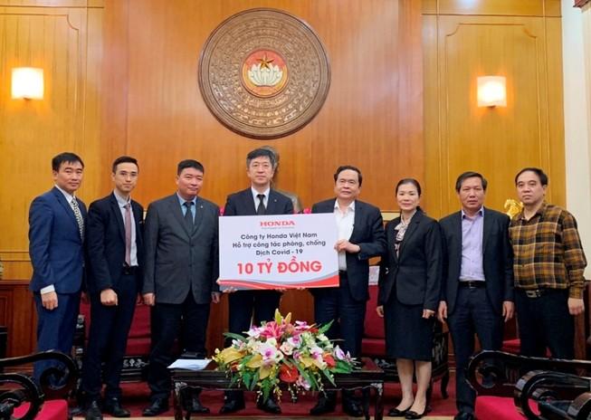 Honda chung tay cùng Chính phủ phòng chống dịch COVID-19