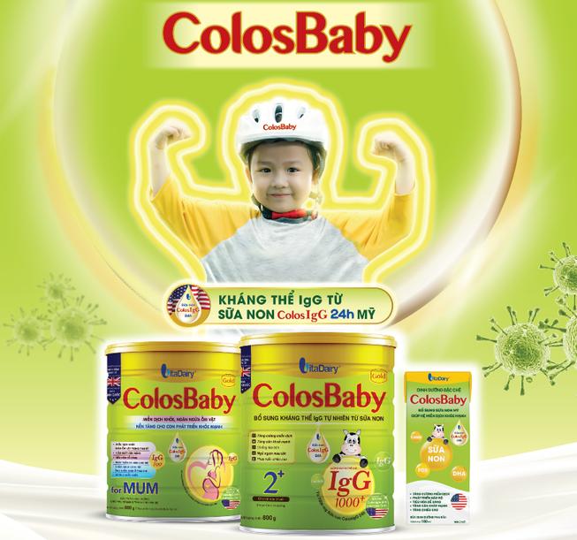 Sữa non 100% ColosIgG 24h giúp tăng cường miễn dịch