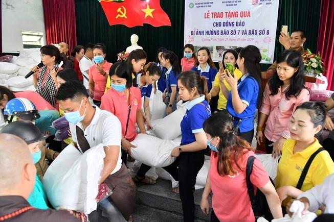 NCB và Quỹ Từ thiện Hành Trình Xanh hướng về miền Trung