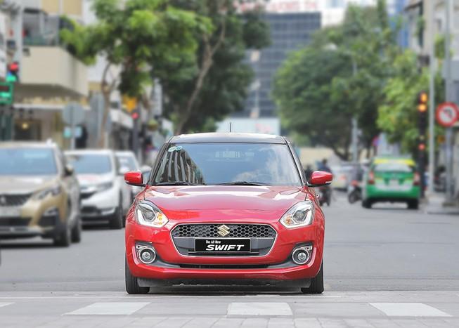 Suzuki Swift, mẫu hatchback thời trang mang thiết kế châu Âu