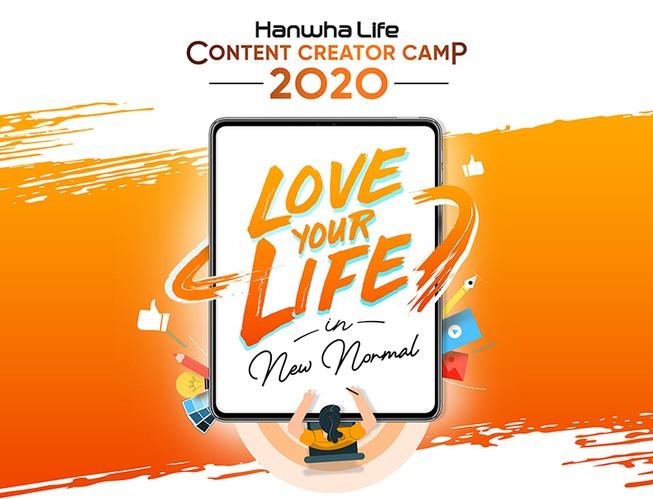 """""""Hanwha Life Content Creator Camp"""" sân chơi sáng tạo mới"""