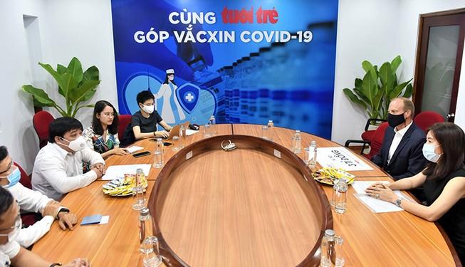 Diageo Việt Nam tài trợ 3 tỷ đồng mua vắc-xin COVID-19