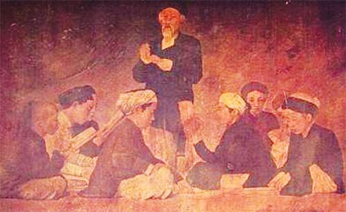 Ai là tác giả bức tranh sơn dầu đầu tiên của Việt Nam