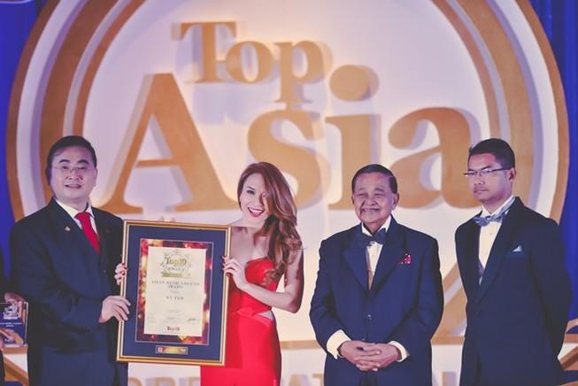 Mỹ Tâm - ca sĩ VN đầu tiên được vinh danh 'Huyền thoại âm nhạc châu Á'