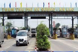 Tăng phí sử dụng đường bộ tại Trạm thu phí BOT An Sương-An Lạc
