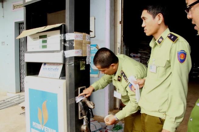 Hơn 60% cây xăng tại Đắk Lắk gắn chíp gian lận
