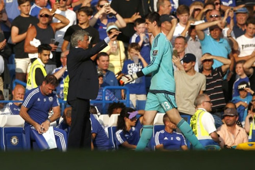 HLV Mourinho nói gì về chiếc thẻ đỏ đầu tiên của mùa giải: No comment