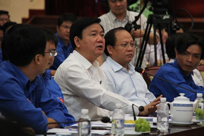 Bí thư Đinh La Thăng đề nghị kiểm điểm các giám đốc sở vắng mặt